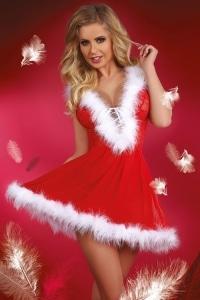 Sexy svůdný vánoční kostým snowflake